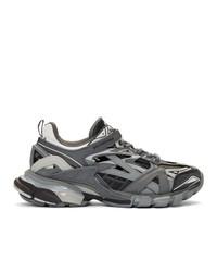 Balenciaga Grey Track2 Sneakers