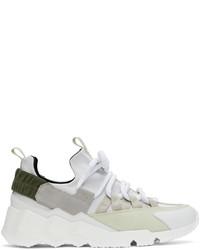 Pierre Hardy Grey Trek Comet Sneakers