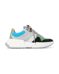 MM6 MAISON MARGIELA Runner Mesh And Nubuck Sneakers