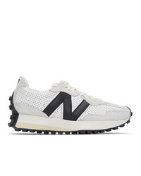 Casablanca White And Black New Balance Edition 327 Sneakers