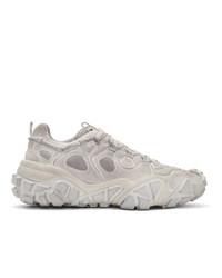 Acne Studios White Bolzter W Tumbled Sneakers