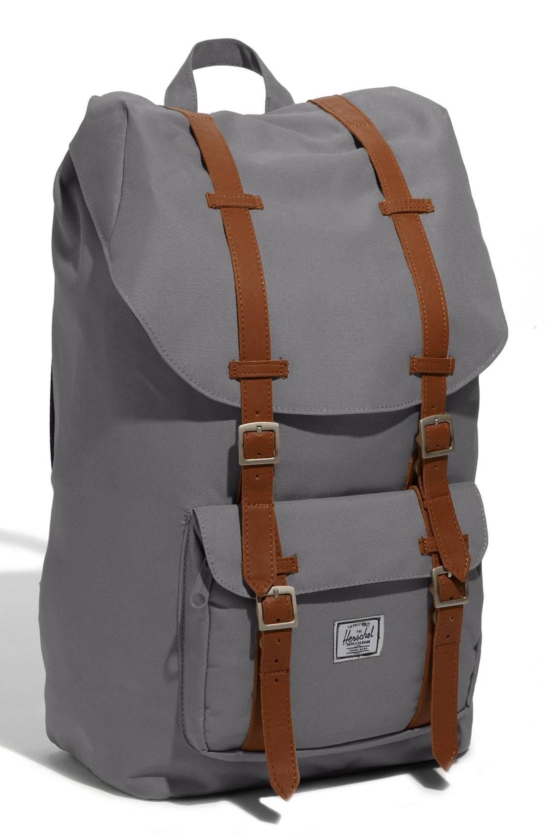 2c52ae5ca1 Grey Backpacks Herschel Supply Co. Little America Backpack
