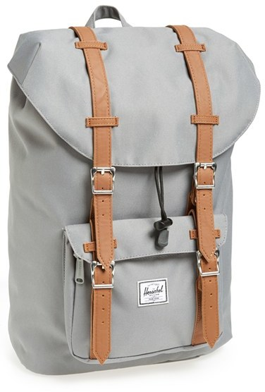 9c31863e754 ... Grey Backpacks Herschel Supply Co Little America Mid Volume Backpack ...