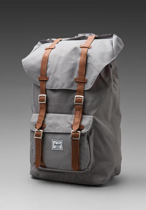 ... Grey Backpacks Herschel Supply Co Little America ... a585b74c8b273