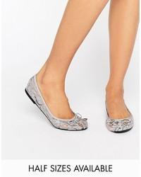 Asos Lisa Lace Ballet Flats