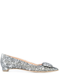Rupert Sanderson Pointed Toe Ballerina Shoes