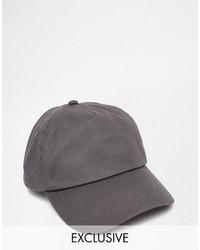 Reclaimed Vintage Baseball Cap In Gray