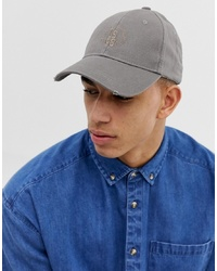 Esprit Baseball Cap In Washed Grey