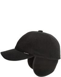 ... Gottmann Polo Baseball Cap Ear Flaps Wool Blend 4e6fd0dcd4f
