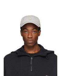 A-Cold-Wall* Grey Detachable Rhombus Storm Cap
