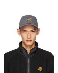 Kenzo Grey Logo Cap
