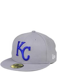 New Era Kansas City Royals Banner Patch 59fifty Cap