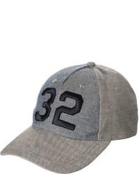 Joe Fresh Kid Boys Chambray Baseball Hat Grey