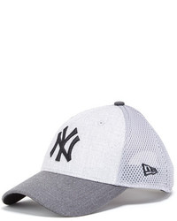 New Era Cap Mlb New York Yankees Team Baseball Cap Gray 940 Neo