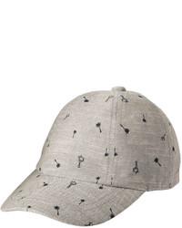 Joe Fresh Toddler Boys Chambray Baseball Hat Grey