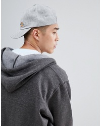 Dickies Willow City Baseball Cap With Small Logo In Grey