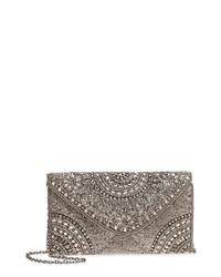 Nordstrom Alhambra Beaded Envelope Clutch