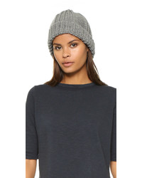 1717 Olive Cable Knit Beanie