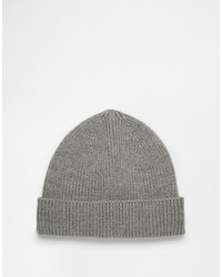 4131ec236 Men's Grey Beanies by Asos | Men's Fashion | Lookastic.com