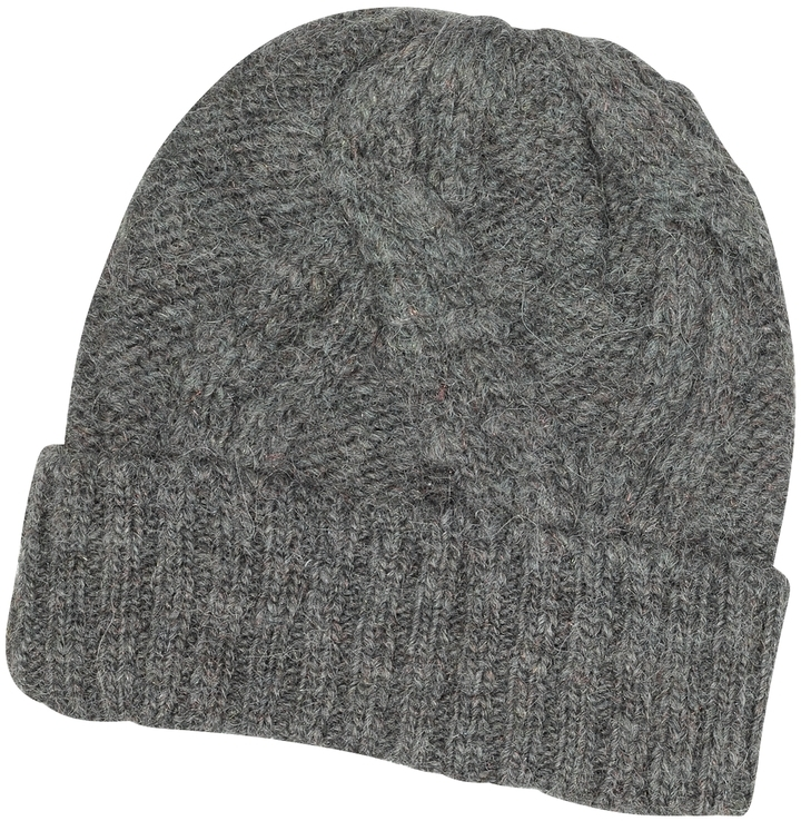 ... Paul Smith Cable Knit Wool Alpaca Beanie Hat ... bcf296e84d0