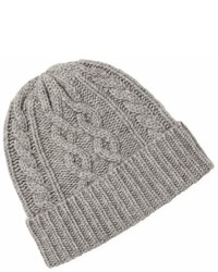 Saks Fifth Avenue Cable Knit Wool Beanie