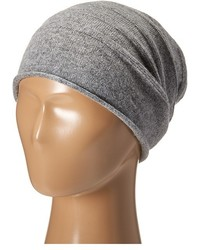Cole Haan Cashmere Roll Cuff Slouchy Beanie
