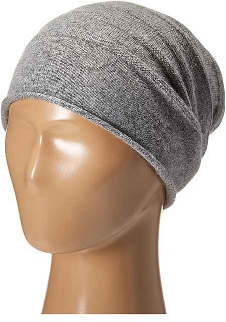 48be6dcccc3 ... Cole Haan Cashmere Roll Cuff Slouchy Beanie ...