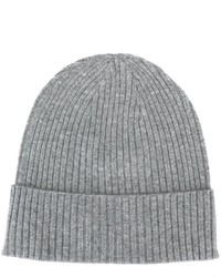 Closed Ribbed Beanie Hat