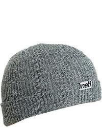 Neff Fold Beanie Grey One Size
