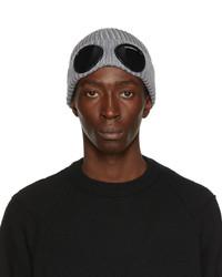 C.P. Company Grey Goggle Beanie