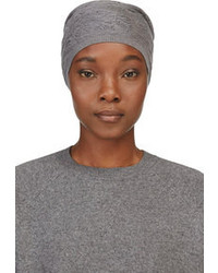 Alexander Wang Grey Irregular Knit Beanie