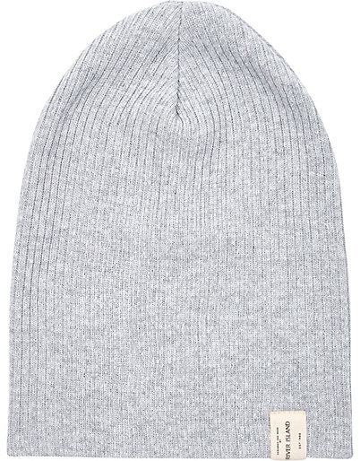 River Island Grey Knit Beanie Hat 6fee6023b0a
