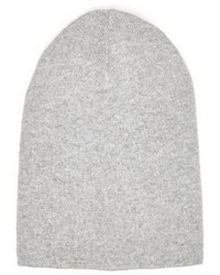 River Island Grey Slouchy Beanie Hat