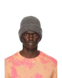 The Elder Statesman Grey Watch Beanie