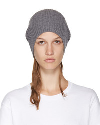 Stella McCartney Grey Wool Beanie