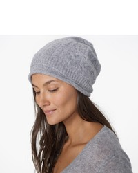 James Perse Cashmere Cable Knit Beanie