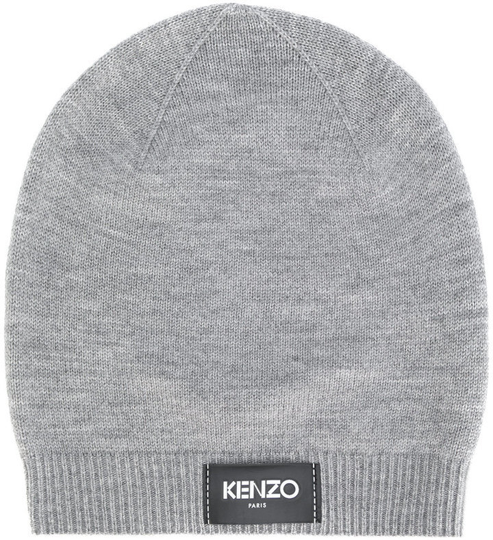 Kenzo Kenzo logo patch beanie   Where to buy   how to wear ea5925c9dca