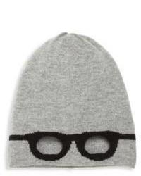 Autumn Cashmere Little Girls Girls Wool Blend Unisex Glasses Beanie