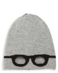 Autumn Cashmere Little Girls Girls Wool Blend Unisex Glasses Beanie