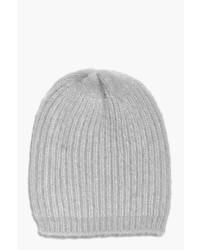 Boohoo Lizzie Faux Mohair Boyfriend Beanie Hat