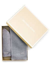Michael Kors Beanie And Scarf Box Set