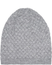 Npeal Cashmere Basketweave Cashmere Beanie