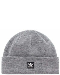 adidas Originals Starboard Knit Beanie Heather Grey One Size