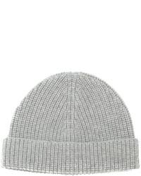 Lanvin Ribbed Beanie Hat