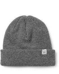 Norse Projects Ribbed Mlange Wool Beanie