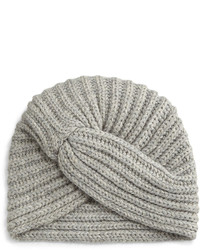 Rosie Sugden Cashmere Turban Style Beanie Hat