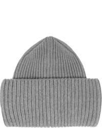 Stella McCartney Ribbed Knit Wool Beanie