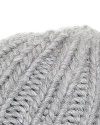 Tridiional Faux Cat Ear Beanie  Grey