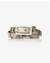 Express 2 In 1 Reversible Buckle Belt