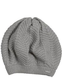 Does Not Apply Herringbone Knit Beret Hat